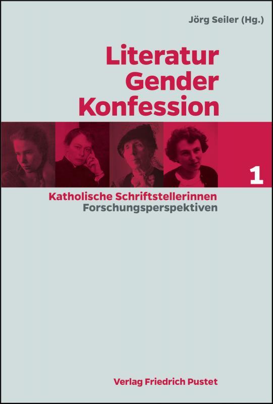 Cover-Bild Literatur - Gender - Konfession