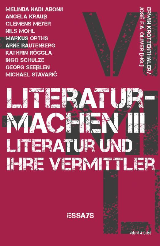 Cover-Bild literaturmachen III