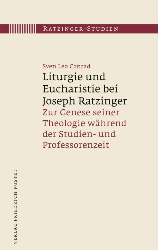 Cover-Bild Liturgie und Eucharistie bei Joseph Ratzinger