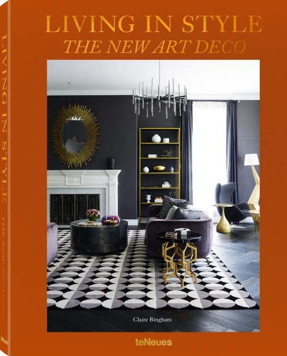 Cover-Bild Living in Style The New Art Deco