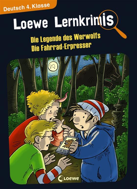 Cover-Bild Loewe Lernkrimis - Die Legende des Werwolfs / Die Fahrrad-Erpresser