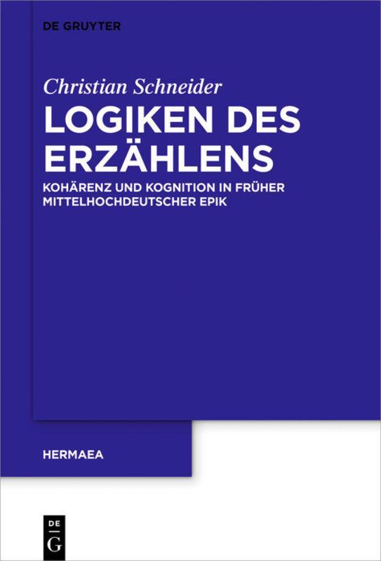 Cover-Bild Logiken des Erzählens