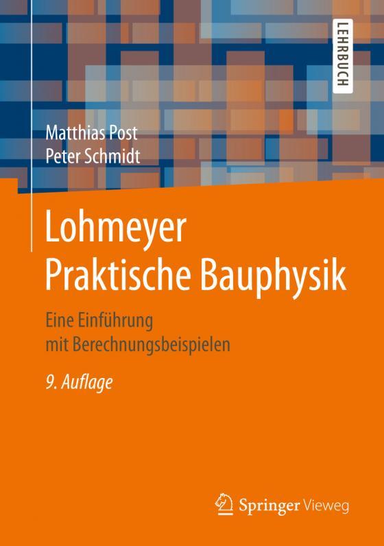 Cover-Bild Lohmeyer Praktische Bauphysik
