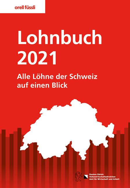 Cover-Bild Lohnbuch 2021