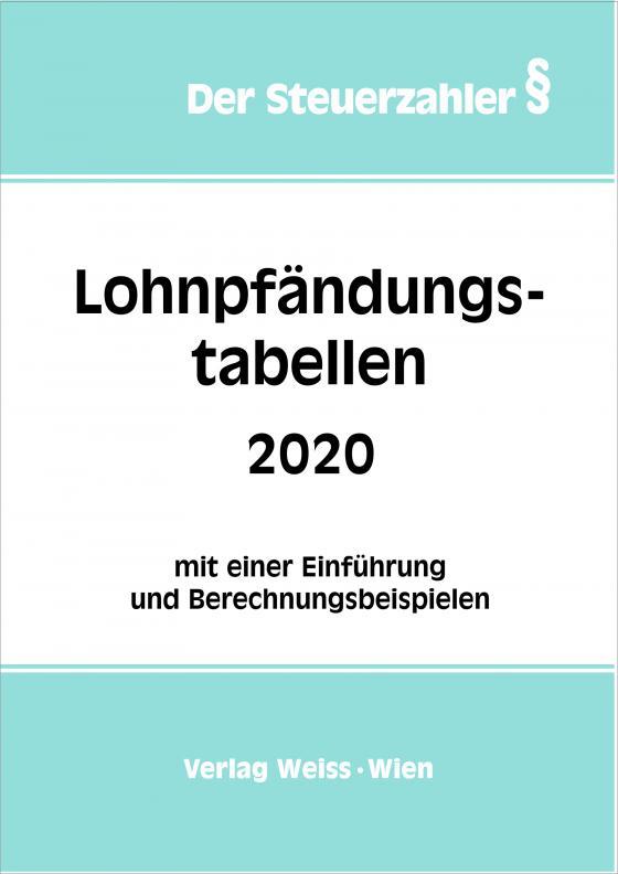 Cover-Bild Lohnpfändungstabellen 2020