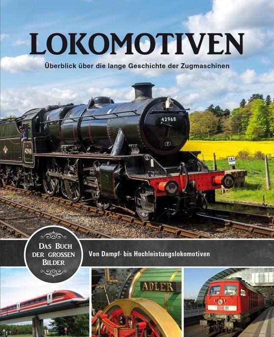 Cover-Bild Lokomotiven Bildband