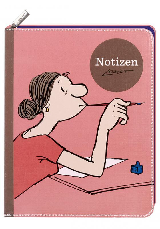 Cover-Bild Loriot - Notizbuch Frauen