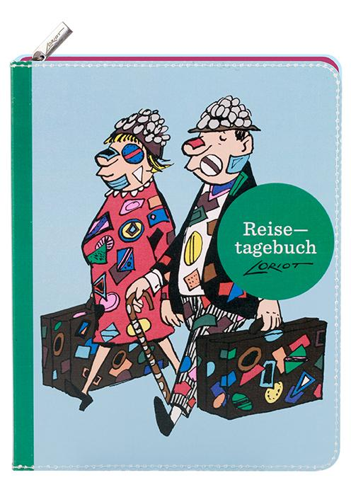 Cover-Bild Loriot - Reisetagebuch