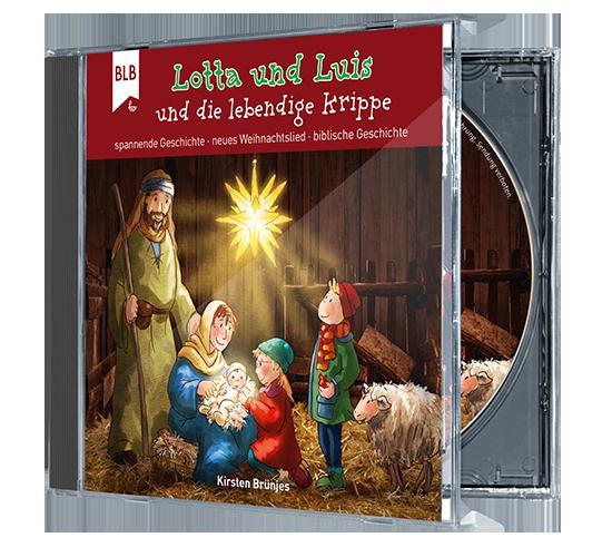Cover-Bild Lotta und Luis und die lebendige Krippe