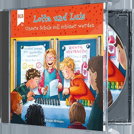 Cover-Bild Lotta und Luis - Unsere Schule soll schöner werden