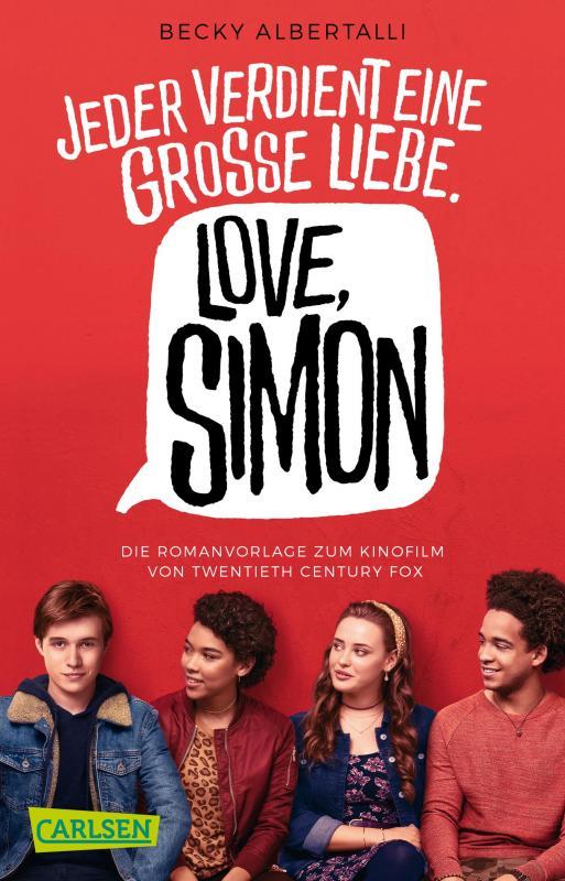 Cover-Bild Love, Simon (Filmausgabe) (Nur drei Worte – Love, Simon )