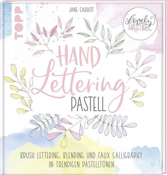 Cover-Bild Lovely Pastell. Handlettering Pastell