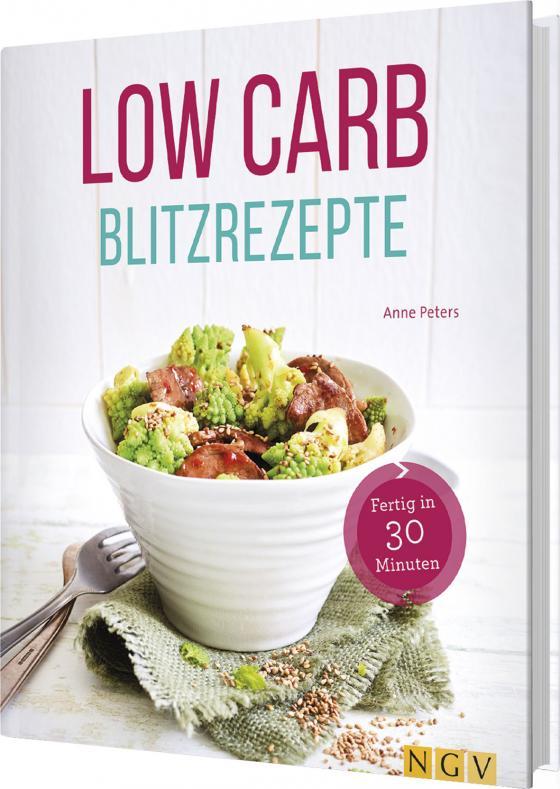 Cover-Bild Low Carb Blitzrezepte