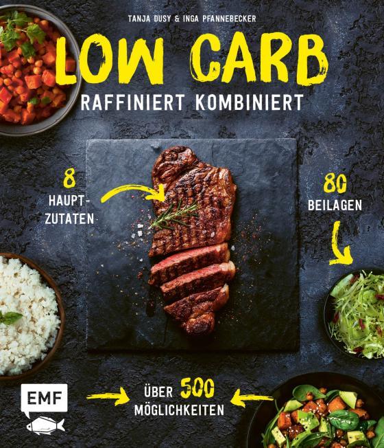 Cover-Bild Low Carb – Raffiniert kombiniert