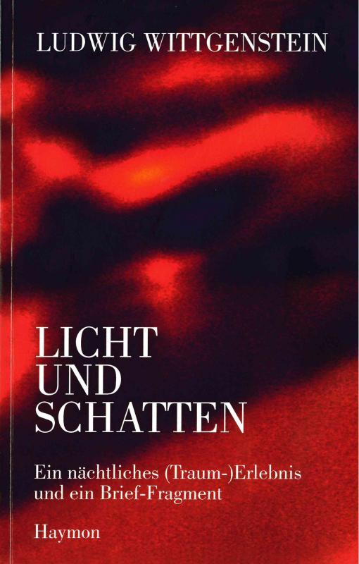 Cover-Bild Ludwig Wittgenstein - Licht und Schatten