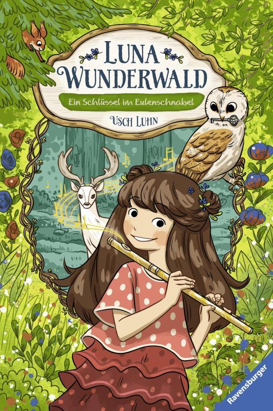 Cover-Bild Luna Wunderwald, Band 1: Ein Schlüssel im Eulenschnabel