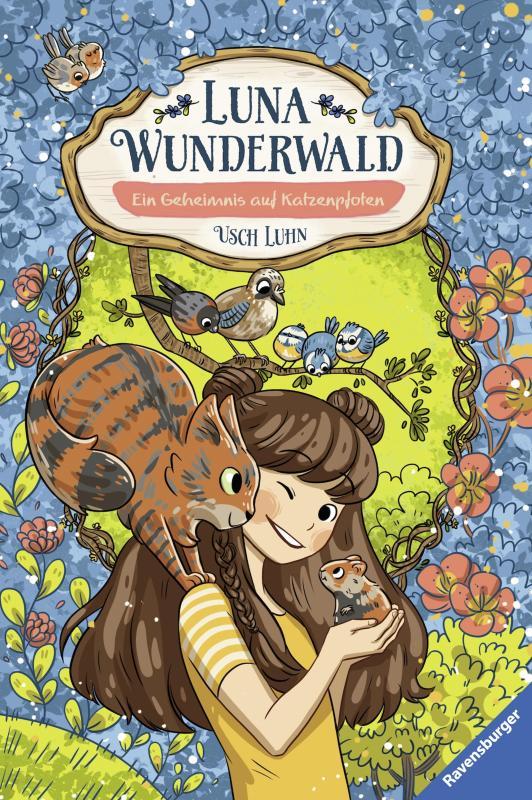 Cover-Bild Luna Wunderwald, Band 2: Ein Geheimnis auf Katzenpfoten
