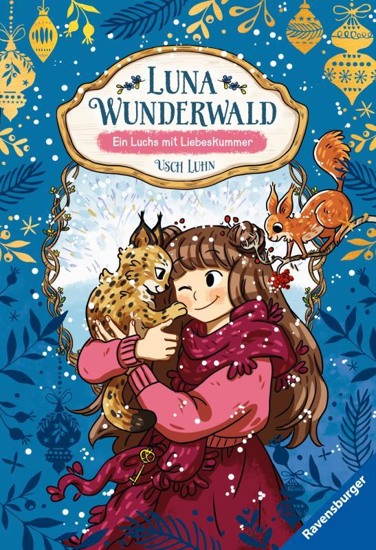 Cover-Bild Luna Wunderwald, Band 5: Ein Luchs mit Liebeskummer