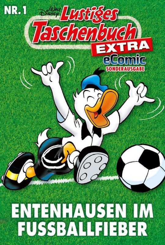 Cover-Bild Lustiges Taschenbuch Fußball 01 - eComic Sonderausgabe