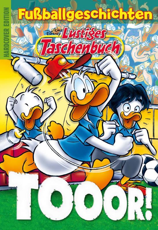 Cover-Bild Lustiges Taschenbuch Fußballgeschichten - Tooor!