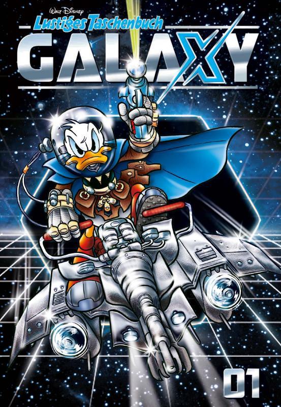 Cover-Bild Lustiges Taschenbuch Galaxy 01