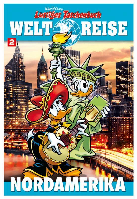 Cover-Bild Lustiges Taschenbuch Weltreise 02