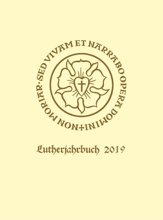 Cover-Bild Lutherjahrbuch 86. Jahrgang 2019
