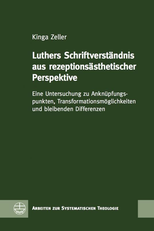 Cover-Bild Luthers Schriftverständnis aus rezeptionsästhetischer Perspektive
