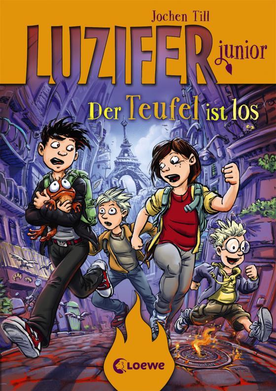 Cover-Bild Luzifer junior 4 - Der Teufel ist los