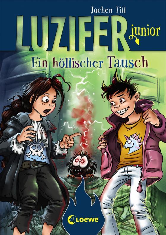 Cover-Bild Luzifer junior 5 - Ein höllischer Tausch