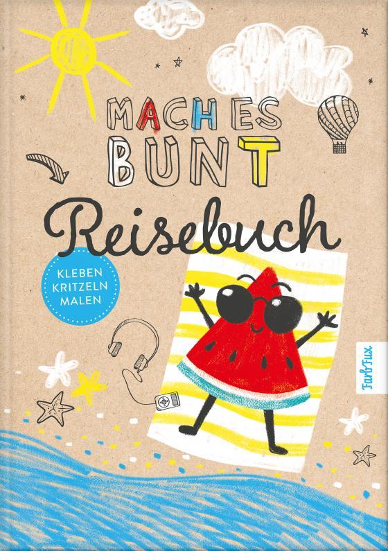 Cover-Bild Mach es bunt Reisebuch