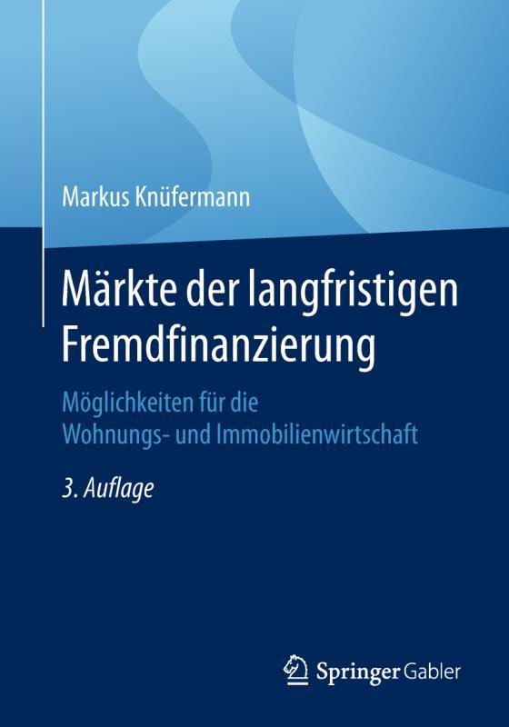 Cover-Bild Märkte der langfristigen Fremdfinanzierung