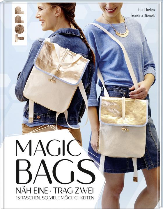 Cover-Bild Magic Bags. Näh eine - trag zwei