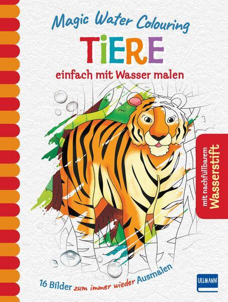 Cover-Bild Magic Water Colouring - Tiere