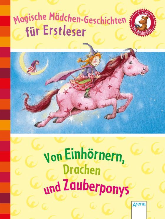 Cover-Bild Magische Mädchengeschichten für Erstleser. Von Einhörnern, Drachen und Zauberponys