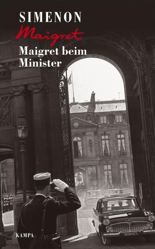 Cover-Bild Maigret beim Minister
