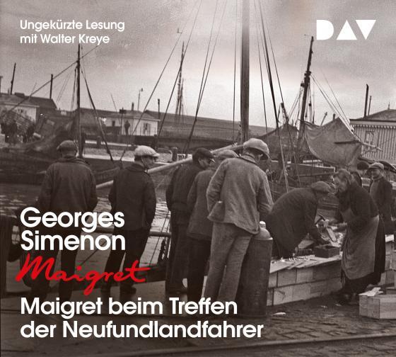 Cover-Bild Maigret beim Treffen der Neufundlandfahrer