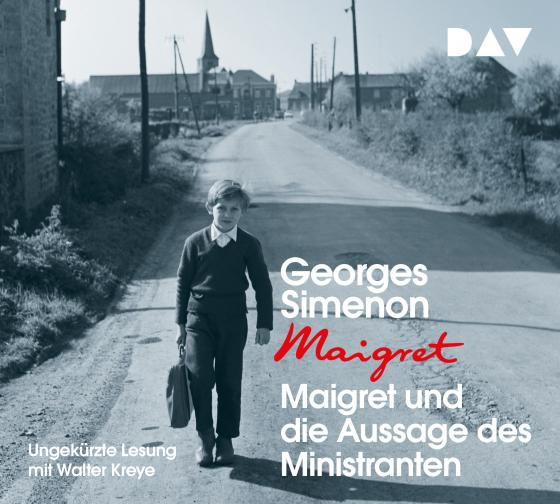 Cover-Bild Maigret und die Aussage des Ministranten