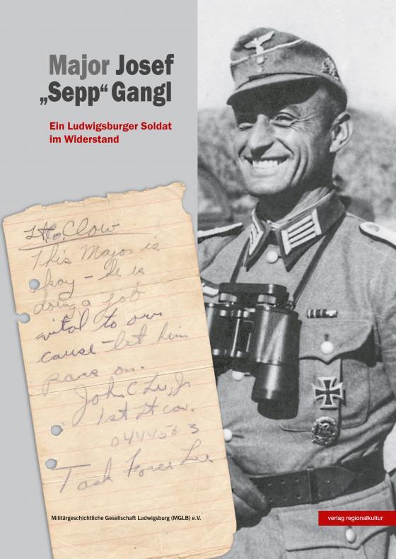 "Cover-Bild Major Josef ""Sepp"" Gangl"