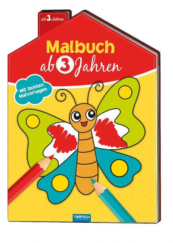 Cover-Bild Malbuch ab 3 Jahren