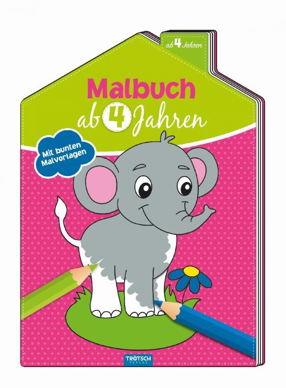 Cover-Bild Malbuch ab 4 Jahren
