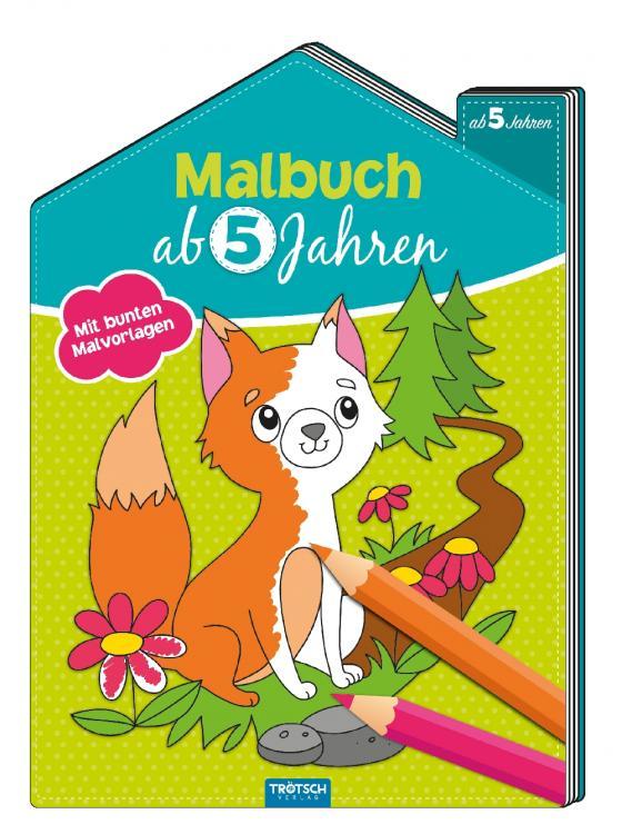 Cover-Bild Malbuch ab 5 Jahren
