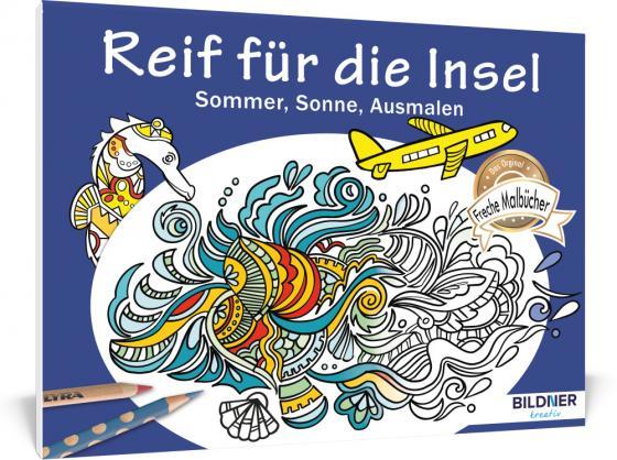 Cover-Bild Malbuch für Erwachsene: Reif für die Insel
