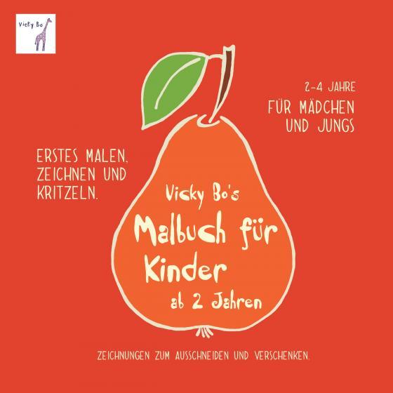 Cover-Bild Malbuch für Kinder ab 2 Jahre