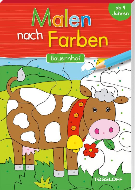 Cover-Bild Malen nach Farben. Bauernhof