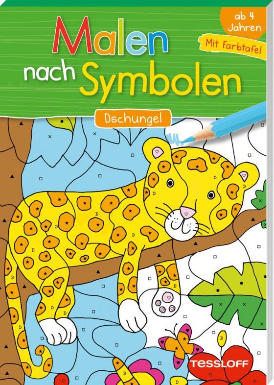 Cover-Bild Malen nach Symbolen. Dschungel