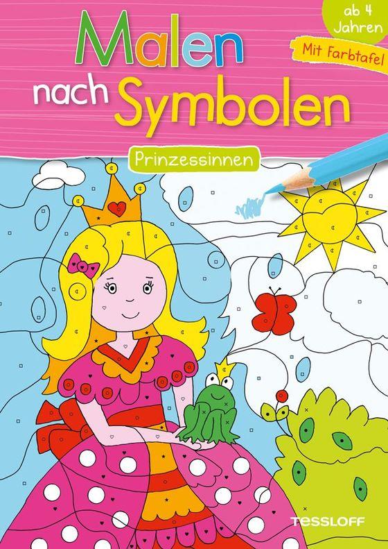 Cover-Bild Malen nach Symbolen. Prinzessinnen