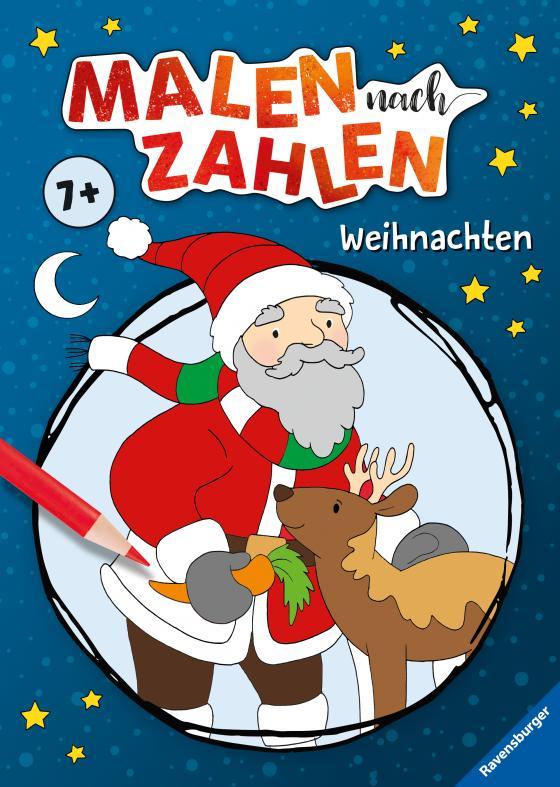 Cover-Bild Malen nach Zahlen ab 5 Jahren: Weihnachten