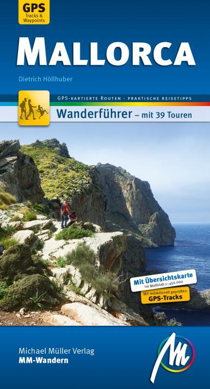 Cover-Bild Mallorca MM-Wandern Wanderführer Michael Müller Verlag