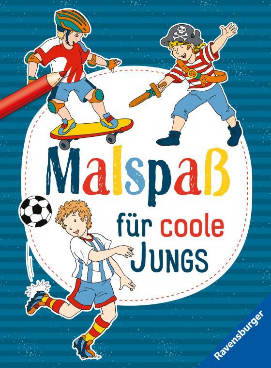 Cover-Bild Malspaß für coole Jungs